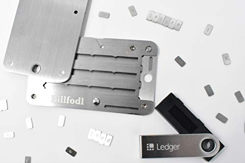 Ledger Nano S et Billfodl Stockage de Phrase de Restauration