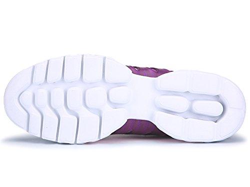 IIIIS-R Uomo Donna Ginnastica Trekking Estive Sneakers Sportive Nero Rosso Blu Verde Rosa Purple