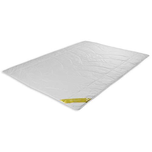 Traumschloss Wildseide Exclusiv Sommerbett Bettdecke Weiß 135 x 200 cm