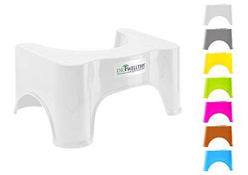 Dr. Wellthy - DER Toilettenhocker - einfache und effektive Prävention gegen Verstopfung