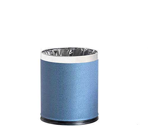 LELME Nordic Mülleimer Startseite Double-Decker Creative Minimalist European Mülleimer Mit Großem Deckel -