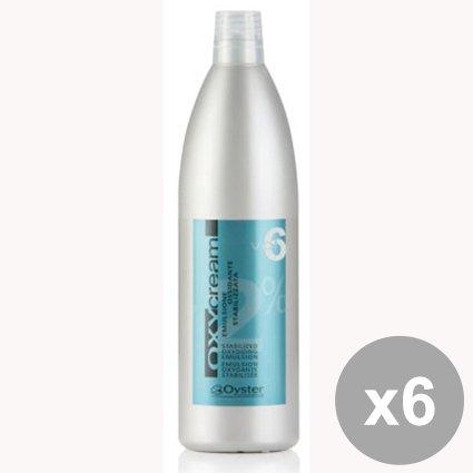 Set di 6 OXY Cream Emulsione 6 Volumi 1 Lt. Prodotti per capelli