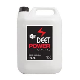 NAF Unisex's Off Deet Power Fly Repellent Spray Refill, Clear, 2.5 kg 7