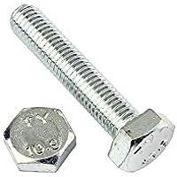 2 Stk Sechskantschraube DIN 933 8.8 M22 x 60
