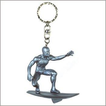 Die Fantastischen Vier Marvel Silver Surfer Figur Schlüsselanhänger Démons et Merveilles