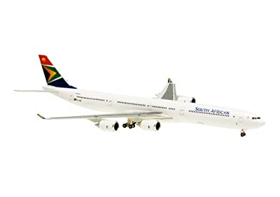 Airbus A340-600 South African Airways no stand Maßstab 1:400 von Hogan Wings