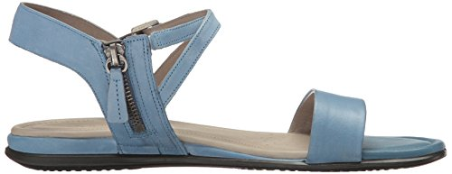 Ecco Womens Touch Ankle Dress Sandal Retro Blue