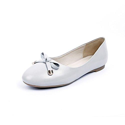 peu profonds/Disque circulaire/Chaussures à talon plat A