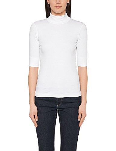 Marc Cain Essentails Damen T-Shirt +E 48.04 J50. Weiß (White 100)