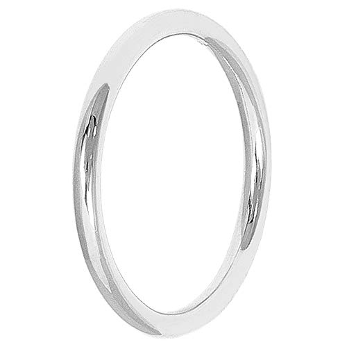 Pernille Corydon Damen Basic Ring Silber - Schlichter schmaler Silberring aus 925 Silber - Größe 55 - R216s-55