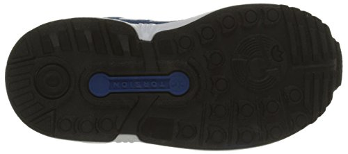 adidas Zx Flux El i, Scarpe Walking Baby Unisex – Bimbi 0-24 Multicolore (Eqtblu/Ftwwht/Cblack)