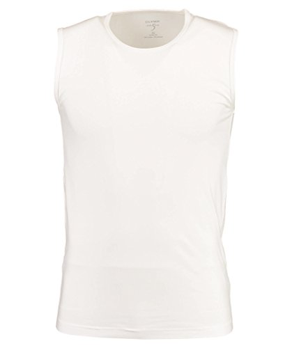 OLYMP Herren Tanktop Level 5 Body Fit Weiß