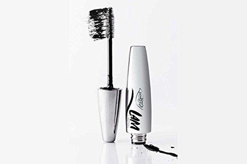 PUROBIO - Mascara L.A.M. - Noir Intense, Volumizes et Plie les Cils - 100% Naturel avec Aloe - 10 ml