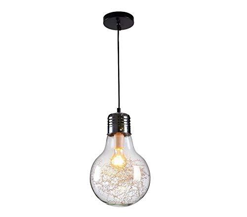 40 Watt Max Bulb (Lightceiling Chandelier Lamp Shade Pendant Light 2017 New (E27 Screw Lamp Base, Just Transparent Lamp Shade, Excluding Light Bulb,Max 40W) ☆)