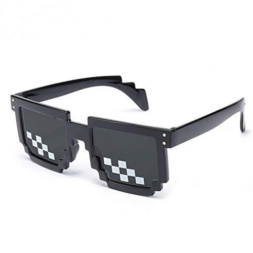 YHEGV Pixelated Sun Glasses Deal Mit Ihm Männer Frauen Party Thug Life Brillen Vintage Eyewear