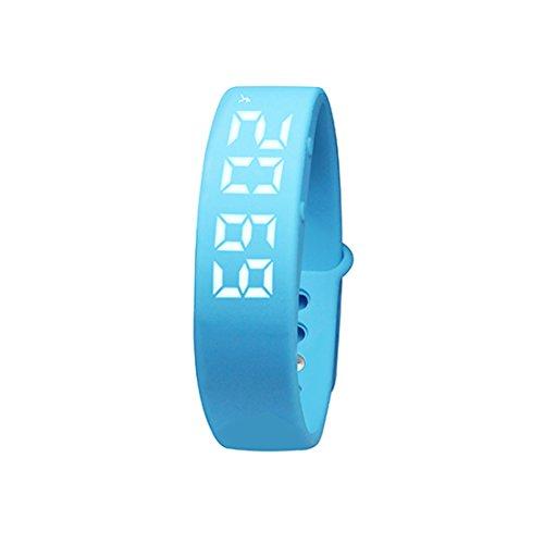 Fitness Armband Silikagel Kalorien Track Schrittzähler Gesundheitsüberwachung Smart Armbänder W5P