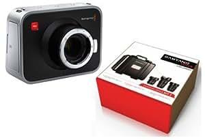 KIT Blackmagic Cinema Camera 2,5K EF avec Samyang Cinema n°3 objectifs 14-35-85mm