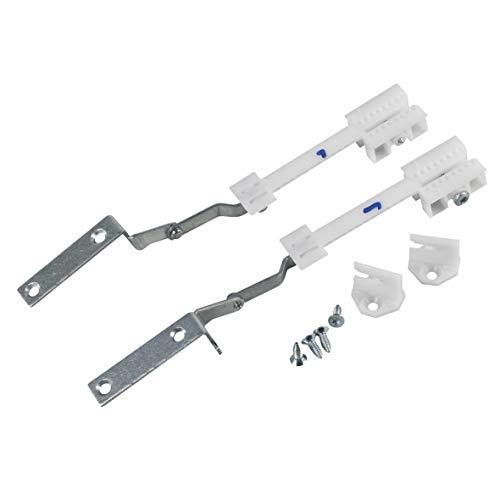 Bosch Siemens 659216 ORIGINAL Türscharnier Scharnier TürscharnierSet Set 9000738956 rechts links Küchenfront Geschirrspüler Spümaschine auch Constructa Neff Balay 00659216 auch Gaggenau