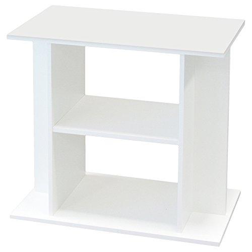 Aquadisio Meuble pour Aquarium Blanc 80cm