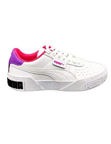 Sneaker Puma Sneakers Donna PUMA Cali Bold WN'S 370811.05 (40-05 White-Royal Lilac-F Purple)