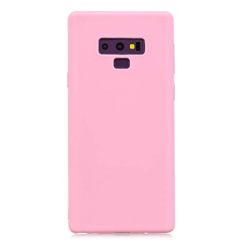 Pink Shell (Forhouse ] Hülle Samsung Galaxy Note 9 Ultra Slim Fit Soft Back case Protective Shell Hülle Back Shell Hülle für Samsung Galaxy Note 9 (Deep Pink))