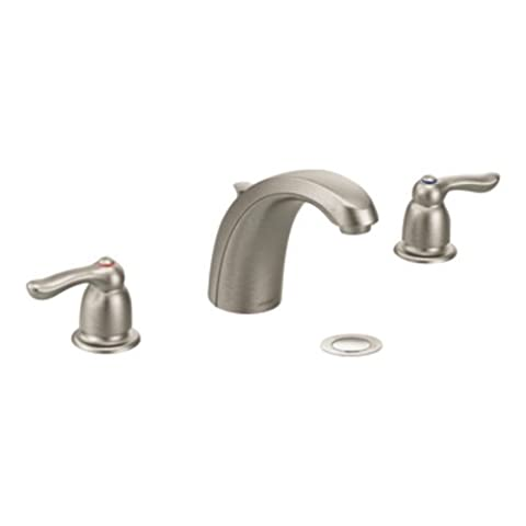 Moen 8922CBN Commercial M-Bition Widespread Lavatory Faucet with 2.5-Inch Lever