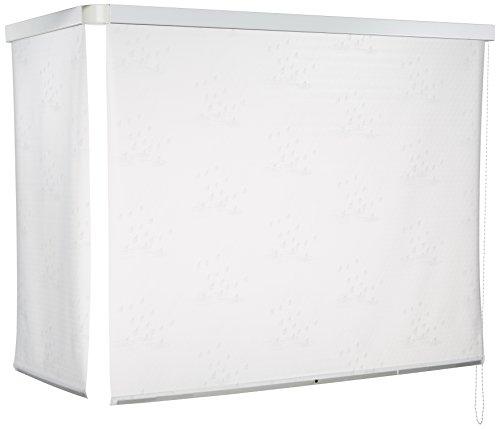 ECO-DuR ECK Duschrollo mit 2 Kassetten 137 x 62 cm weiß thumbnail