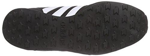 adidas City Racer W, Chaussures de Running Compétition Femme, Noir (Negbas / Ftwbla / Rosimp) Multicolore - Negro / Blanco / Azul (Negbas / Ftwbla / Azuent)