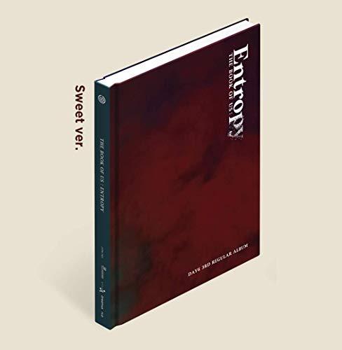 DAY6 - The Book of Us : Entropy [Sweet Ver.] Set di Adesivi Decorativi per CD, Foto, Cartoline, segnalibro, Poster Piegato con Effetto preordinato, Set di Adesivi Decorativi Extra