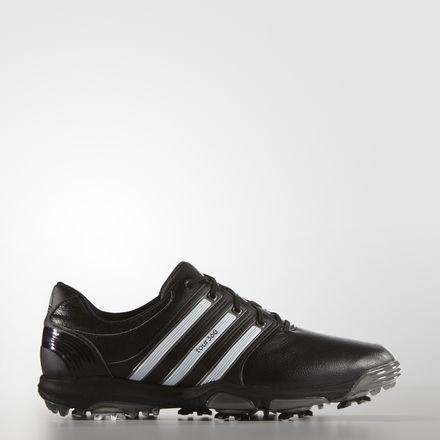 adidas Tour360 X WD, Scarpe da Golf Uomo, Multicolore (Weiß/Schwarz/Dunkles Silber), 47 EU