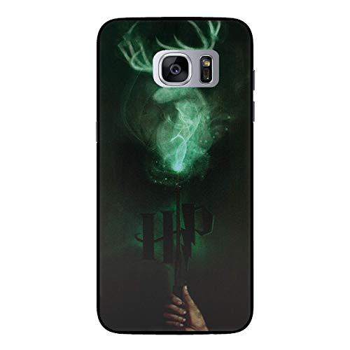 EJC Avenue Samsung Galaxy Harry Potter Kunststoff-Hülle Für Samsung S7 (G930) / Schutzfolie/Displayschutzfolie Zauberstab