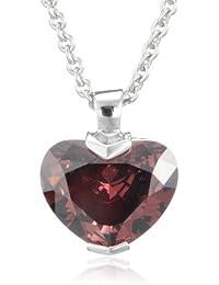 Esprit Damen-Halskette pure love berry 925 Sterlingsilber 45cm ESNL91909B420