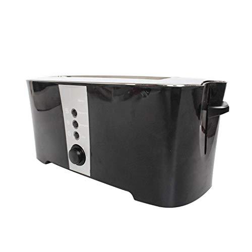 QSJNN Toaster, Gewerbe Zu Hause, Automatische Toaster, Frühstück Maschine (Color : Black)