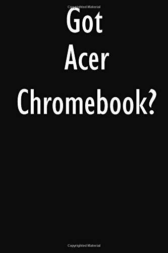 Got Acer Chromebook?: Acer Chromebook Diary Journal