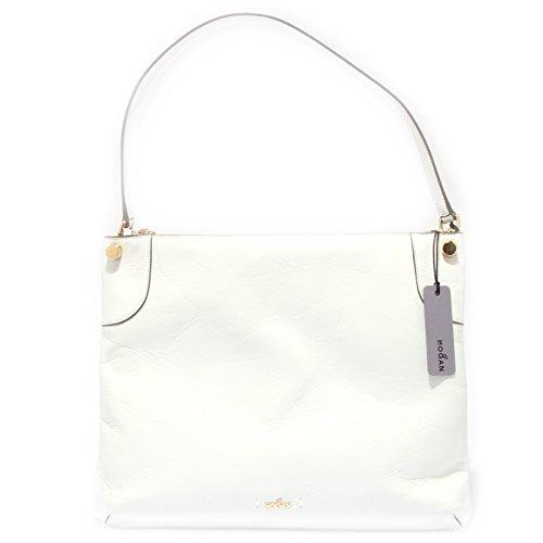 9758R borsa donna HOGAN FLAT HOBO bianco hand bag woman Bianco