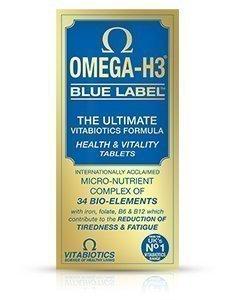 Vitabiotics Omega-H3 Blue Label 30 Tabs, 59 g