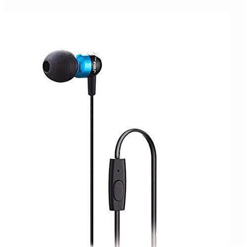 Ipod Nano In-ear-headset (XIXI Headsets: JBMMJ 3,5 mm A8 In-Ear-Stereo-Kopfhörer, Premium-Stereo-Headset für MP3, MP4, iPhone, IPad, IPod, Nano, Handy usw. (Color : Blue))