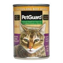 PetGuard Chicken and Beef Dinner Canned Cat Food