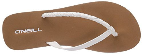 ONeill Ftw Queen, Tongs femme Multicolore - Mehrfarbig (1030 Powder Whi)
