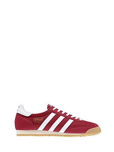 adidas Herren Dragon OG Sneaker Rot (Power Red/ftwr White/ecru Tint S18)