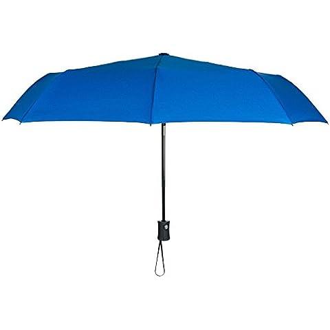 huatuo® BODYGUARD Paraguas a prueba de viento–automático abrir/cerrar–fuerte resistente al agua, compacto para fácil transporte Totes Bolsas–resistente, alta calidad