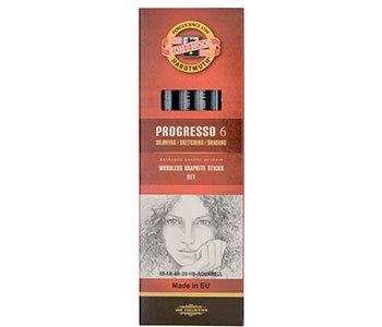 koh-i-noor-progresso-woodless-graphite-pencil-set-set-of-6