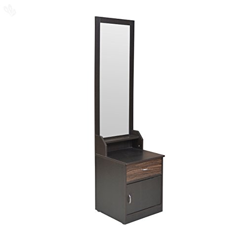Crystal Furnitech CRYGXDV15 Dressing Table (Dark Finish)