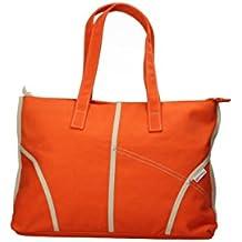 SUPERGA bolso de mano pequeña mujer Colour lona (naranja)