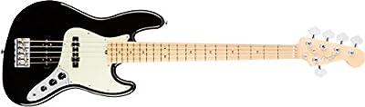 Fender American Pro Jazz Bass V MN BK · Bajo eléctrico