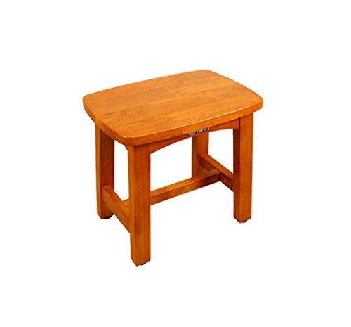XZXYHCJ FJXLZ® Duschstuhl, Holz Material Starke Durable Badezimmer Baby Dusche hocker Abnehmbar, leicht