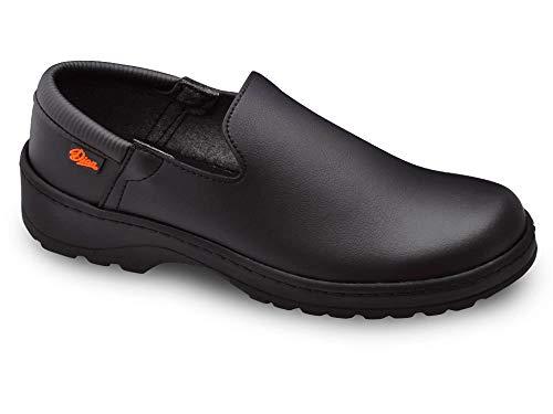 Marsella Negro Talla 40 Marca DIAN, Zapato de Trabajo Unisex Certificado EN ISO 20347.
