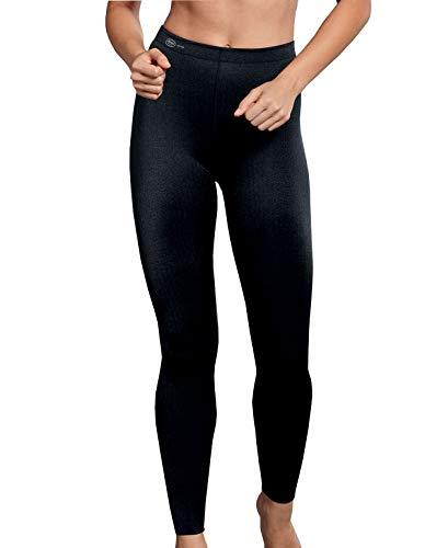 Anita Damen Sportunterhose Sports Tights Massage, Schwarz (Black 001), 40
