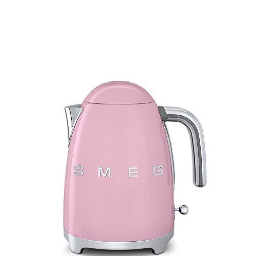 Smeg KLF03PKEU Wasserkocher Cadillac Pink Retro Design 50er Jahre Teekocher