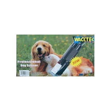 Macchina tosatrice professionale per cani 30W con lama di ricambio in valigetta